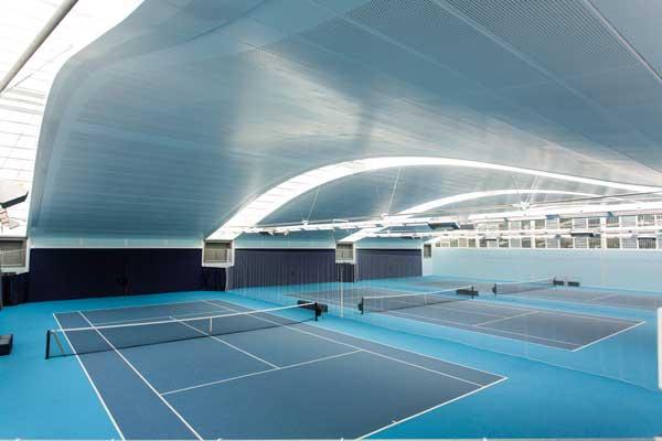 Commendation: The Hurlingham Club Racquet Centre