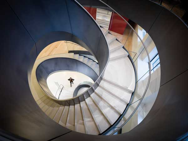 Merit: Wellcome Collection Dynamic Stair, London