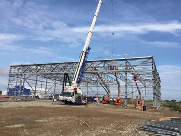 Steel up for new Lydd coastguard base