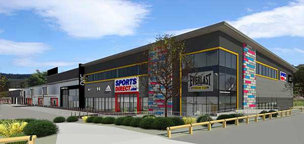Work starts on sports outlet