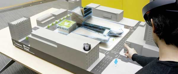 From BIM to mixed reality technology