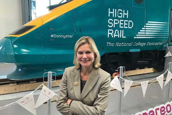 Doncaster high-speed rail campus opens