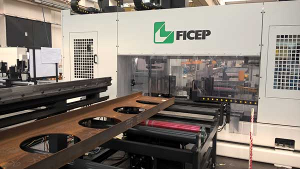 Westok invests in bespoke FICEP Endeavour saw and drill line