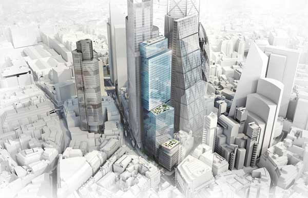 Revised plans for City 50-storey tower approved