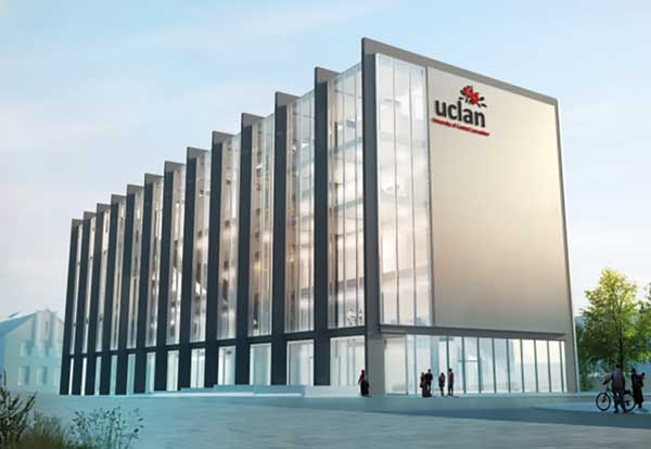 UCLan's Innovation centre under way