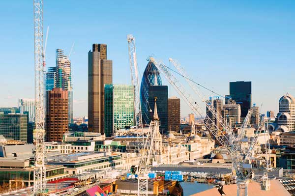 London office construction slows down