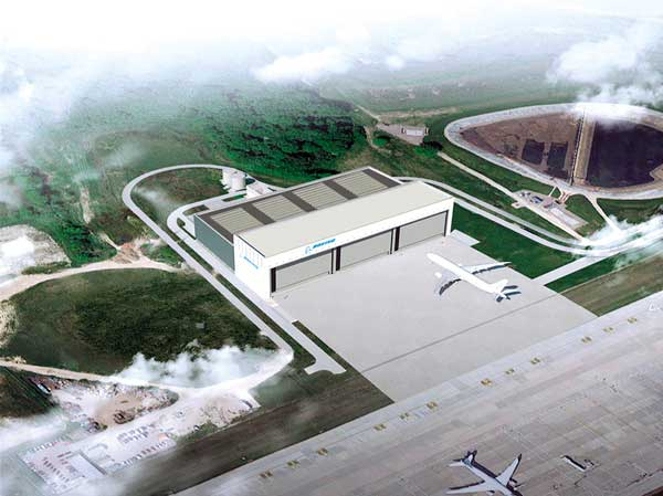Green light for huge Gatwick hangar