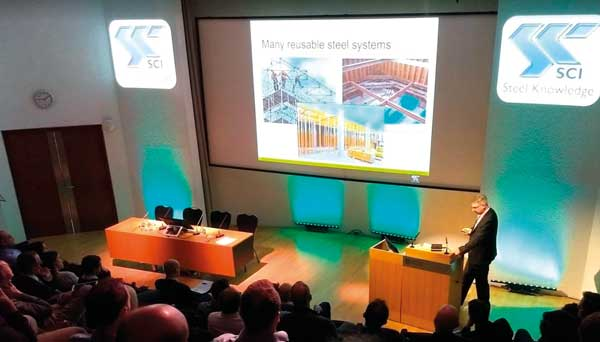 SCI event highlights steel construction opportunities