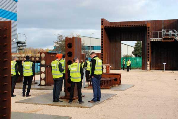 Caunton holds steel bricks dissemination day