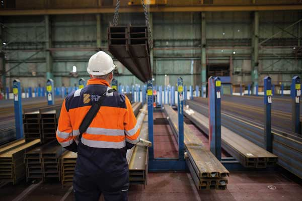 British Steel opens new Scunthorpe Metal Centre