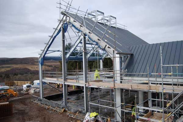 Steel delivering new Highlands distillery