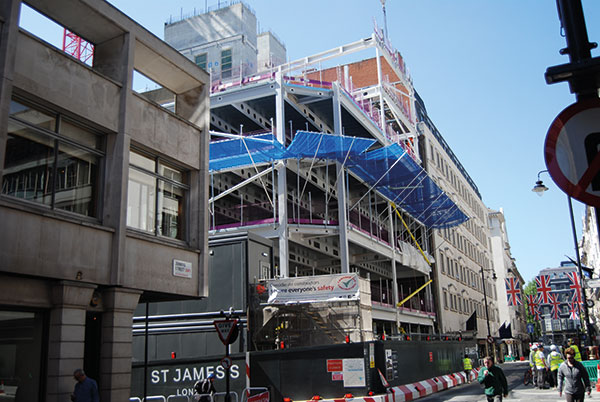 Commercial addition for St James's redevelopment