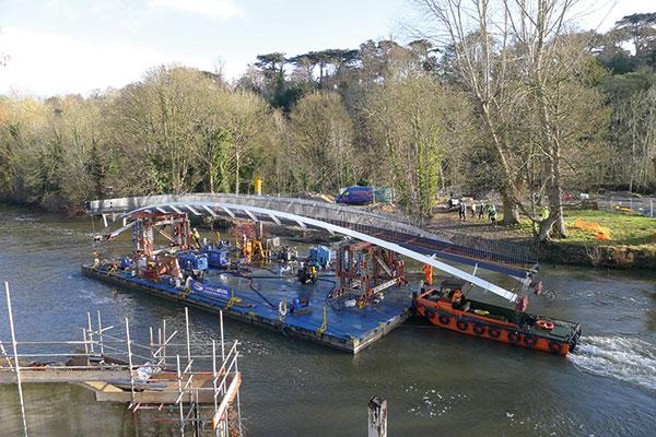 Installation complete for Taplow bridge