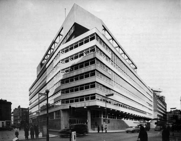 General Post Office Expansion and Composite Construction