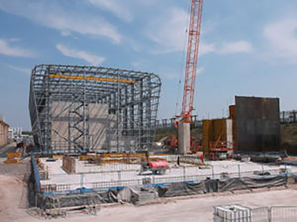 Steelwork aids nuclear decommissioning