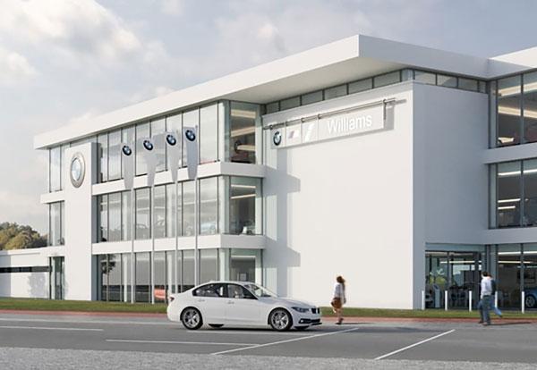 Contractor named for steel-framed flagship showroom