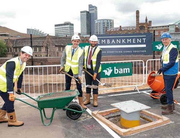 Work starts on final phase of Salford Embankment