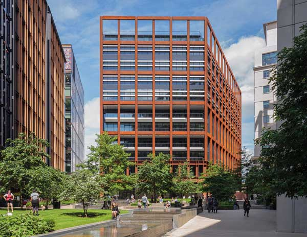 Commendation: Four Pancras Square, London