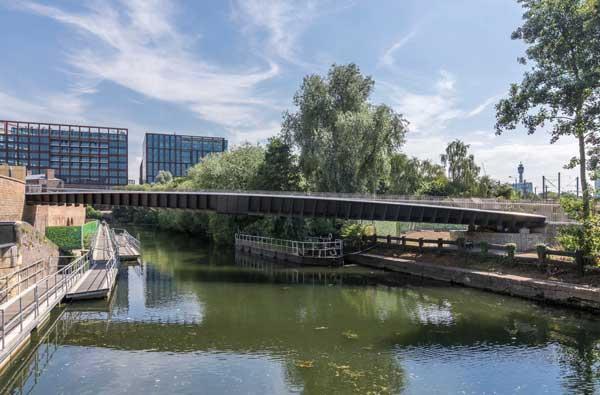 Commendation: Somers Town Bridge, London
