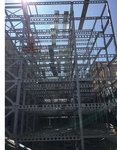 Jersey office development opts for steel solution