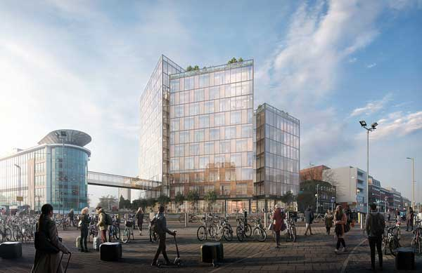 Contractor named for TK Maxx's steel-framed HQ