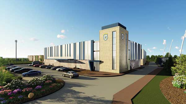 Huddersfield reveals plans for new training complex