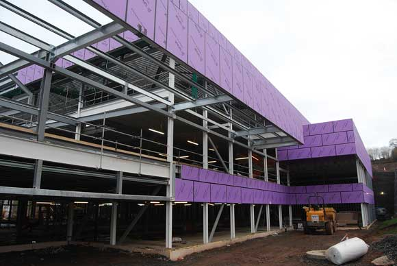 Steel creates stand-out campus
