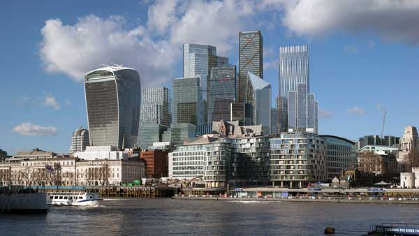 Latest images show City of London's evolving skyline