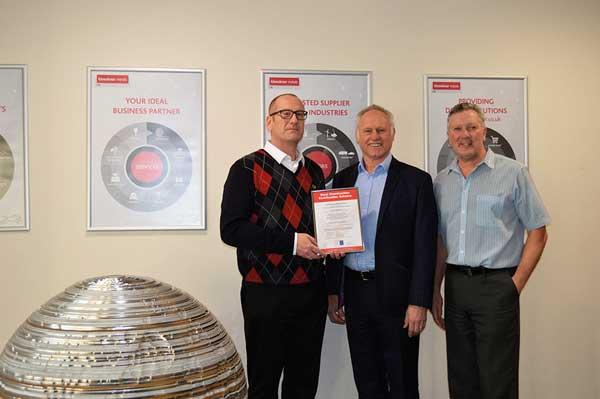 Kloeckner Metals UK obtains ISO 45001:2018