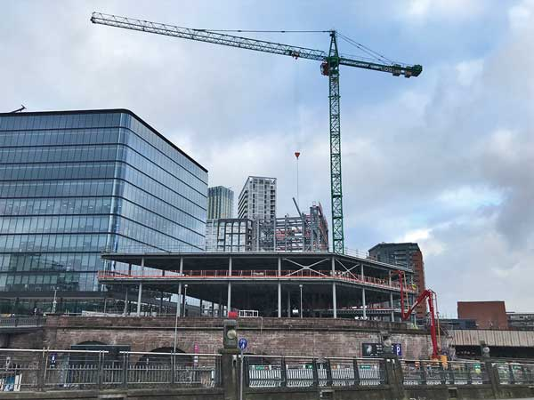 Frame on the up at Salford's Embankment