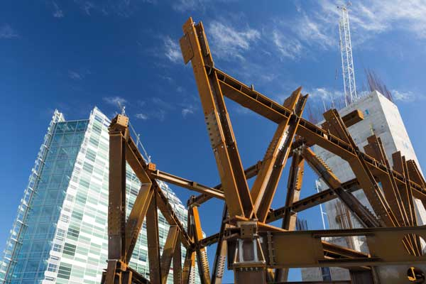 Trusses provide towering support
