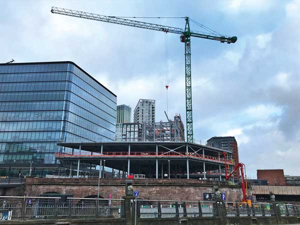 Survey shows construction growth in UK regional cities
