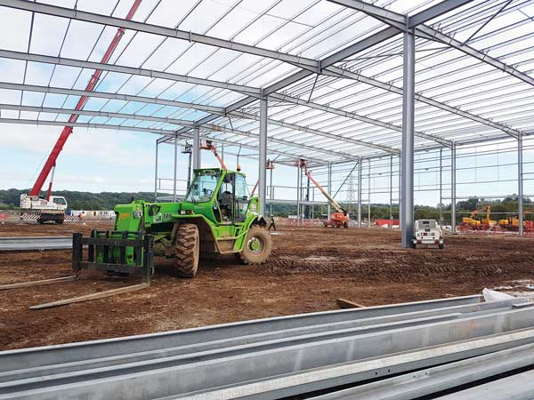 Frames up for major South West logistics park