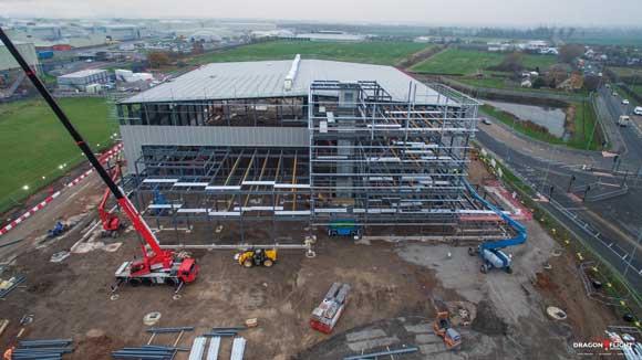 Steelwork raises flagship development