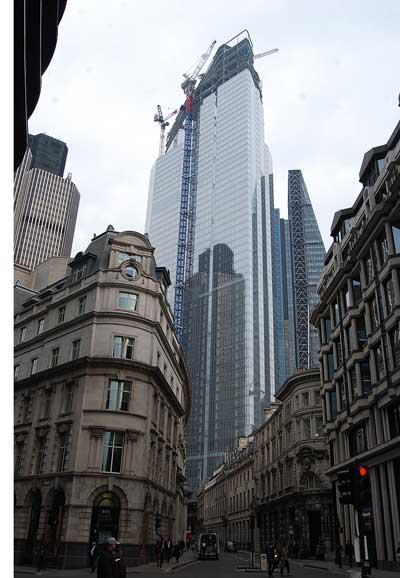Steelwork complete for City's tallest tower