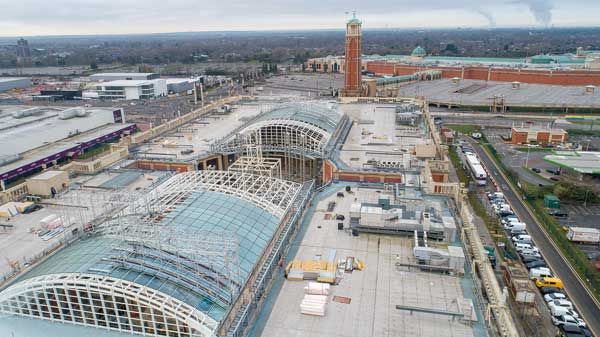 New roof for Manchester shopping centre