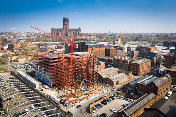 Major residential scheme takes shape on Merseyside