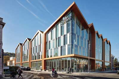 Recognition for steel projects at RICS awards