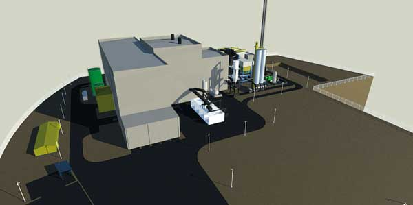 Steelwork contractor chosen for Cheshire energy plant