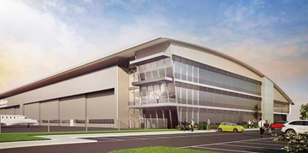 American aircraft manufacturer invests in new hangar