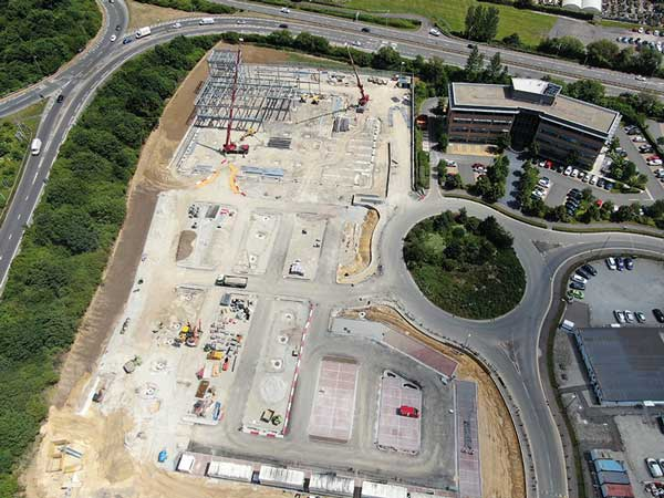 Steel starts for flagship M&S store in Kent