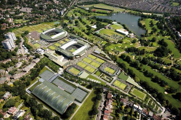 Contractor named for Wimbledon tennis complex