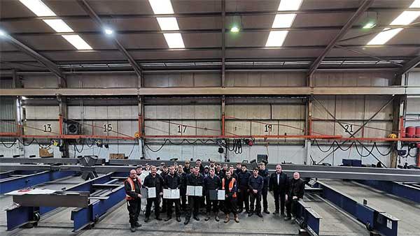 Scottish contractor endorses BCSA CRAFT apprenticeships