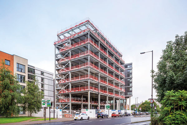 Steel completes at Sheffield's New Era development