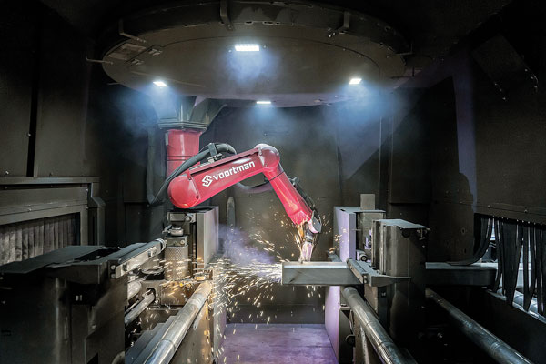 New robotic steel profile cutting solution from Voortman