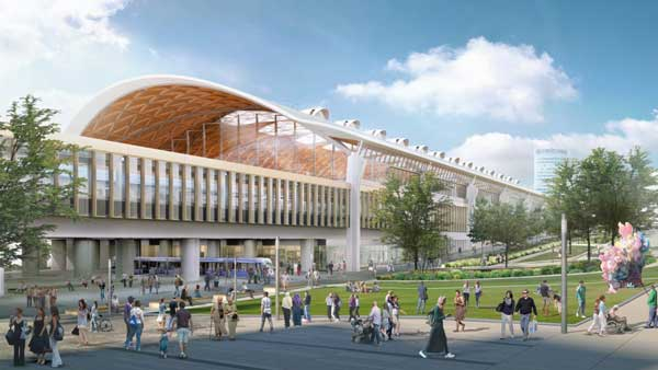 Updated designs unveiled for West Midlands HS2 stations