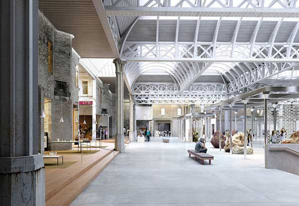 Plans in for Museum of London's Smithfield cultural centre