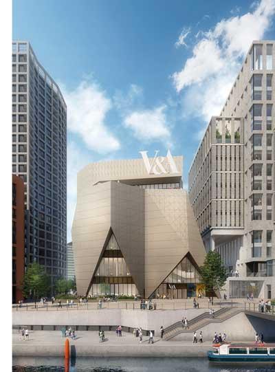 Steel package awarded for Stratford's V&A East building