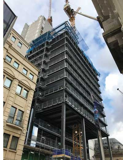 Birmingham landmark building taking shape