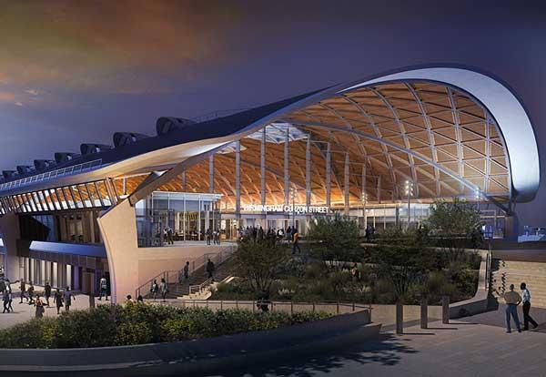 Birmingham HS2 Curzon Street station gets planning approval